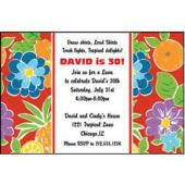 Cabana Rio Personalized Invitations