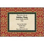 Holiday Style Personalized Invitations