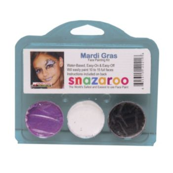 Mardi Gras Face Paint Kit