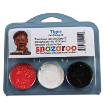Tiger Face Paint Kit