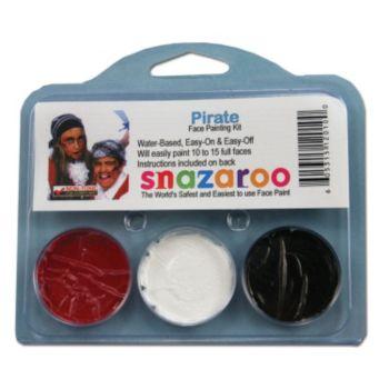 Pirate Face Paint Kit