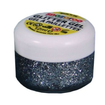 Silver Glitter Face Paint