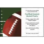 All Pro Football Personalized Invitations