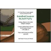 Mvp Baseball Personalized Invitations