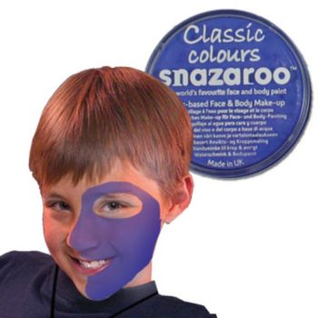 Sky Blue Face Paint