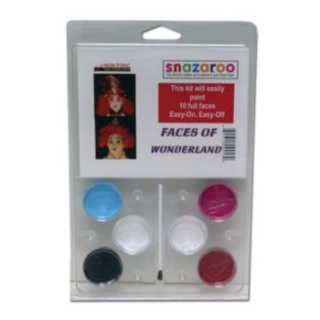 Faces of Wonderland Face Paint Kit
