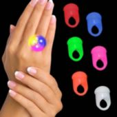 LED Jelly Rings - 24 Pack