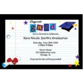 Congrats Grad Personalized Invitations