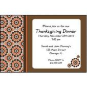 Fall Design Personalized Invitations