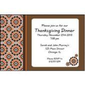 Fall Design Personalized Invitations