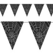 Spider Web Pennant Banner Decoration