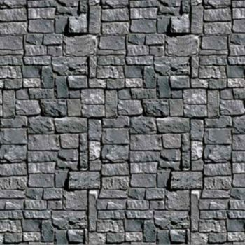 Stone Wall  Scene Setter Roll