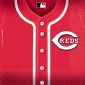 Cincinnati Reds Lunch Napkins - 36 Pack