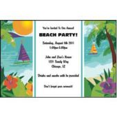 Ocean View Personalized Invitations