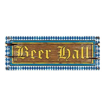 BEER HALL CUTOUT