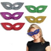 Glitter Masks - 12 Pack