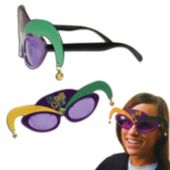 Mardi Gras Sunglasses - 12 Pack