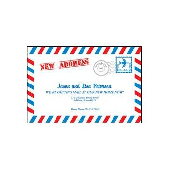 New Address Envelope