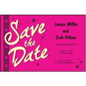 Pink Stars  Save The Date