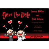 Getting Hitched  Save The Date Cards