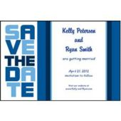Blue Stock Save The Date
