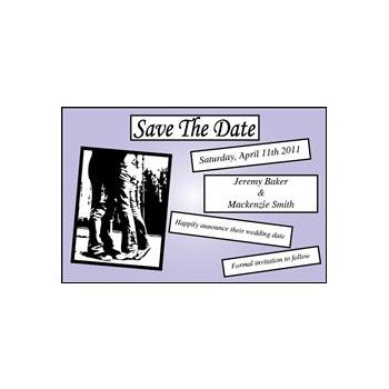 Save Date purp