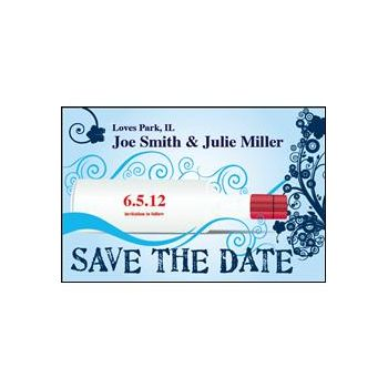 Save the Date Bottle