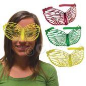 Neon Butterfly Masks