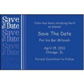 Fabulous Blue  Save Date