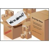 Moving Boxes Personalized Cards