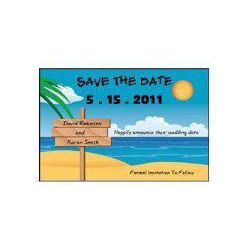 Save Date Beach