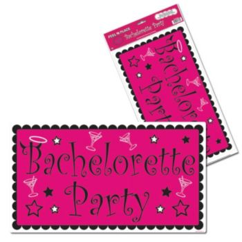 BACHELORETTE PARTY CLING