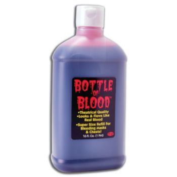 BLOOD IN A BOTTLE