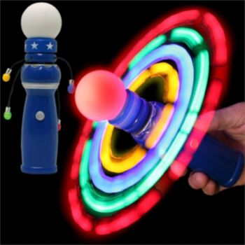 LED Galaxy Spinner - 8 Inch
