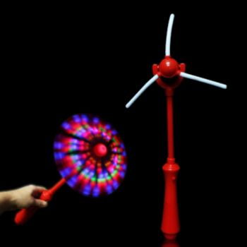LED Windmill Wand - 14 Inch