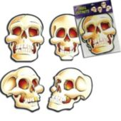 Skull Cutouts-4 Pack