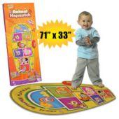 Animal Hopscotch Playmat