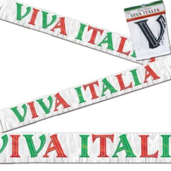 VIVA ITALIA  FRINGE BANNER