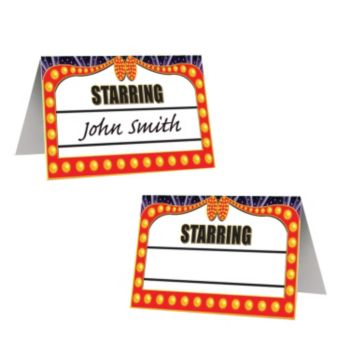 AWARDS NIGHT   PLACE CARDS