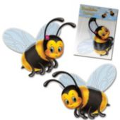 Bumble Bee Cutouts-2 Pack