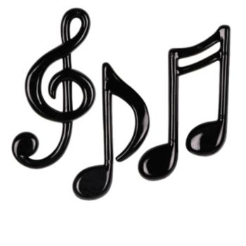 MUSICAL NOTE DECORATIONS