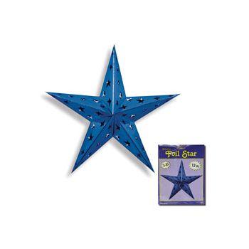 BLUE FOIL STAR