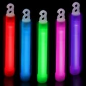 "Assorted Color 6"" Glow Sticks - 25 Pack"