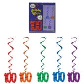 100 Whirl Decorations-5 Pack