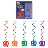 90 Whirl Decorations-5 Pack