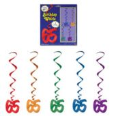 65 Whirl Decorations-5 Pack