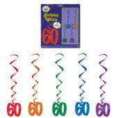 60 Whirl Decorations-5 Pack