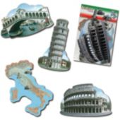 Italian Theme Cutouts-4 Pack