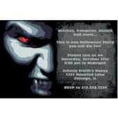 Vampire  Personalized Invitations