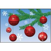 Christmas Ornaments Personalized Invitations
